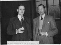 Mr Spurling & Mr Duncan Simonds c1950