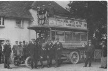 Charabang outing pre 1920