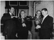 SH Spurling, presentation in Swindon c1950