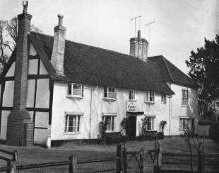 Hurst, Castle Inn 1956