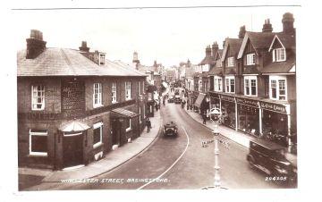 Winchester St, Wheatsheaf c1938