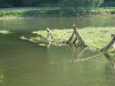 Geschmückt und kopflos: Gespenster am Fluss