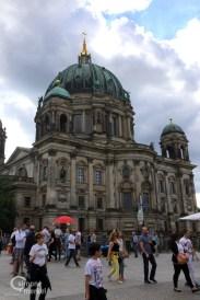 Bibelerzählnacht, Berliner Dom. Simone Merkel
