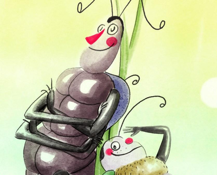 Zwei Käfer gehen online