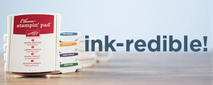 Free SET of 10 Ink Pads with qualifying purchase