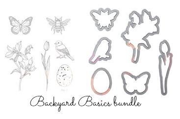 Backyard Basics bundle of products