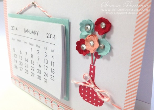 Calendar sweet sayings flowers