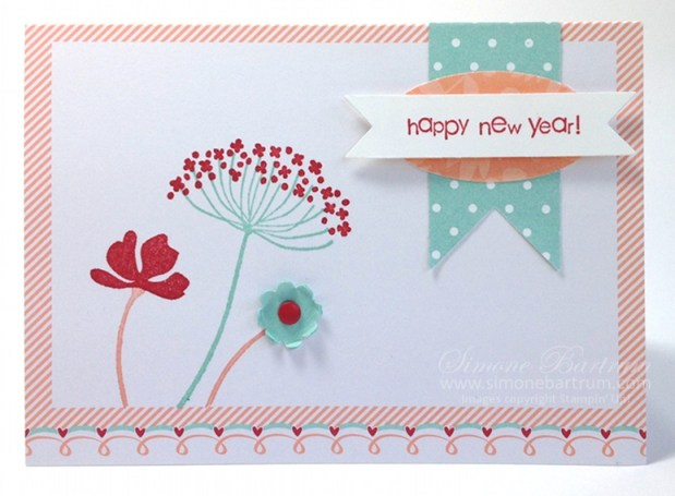 Sweet Sayings Happy New Year card