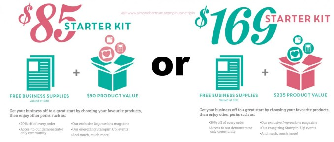 Join Stampin' Up! For $85 or $169