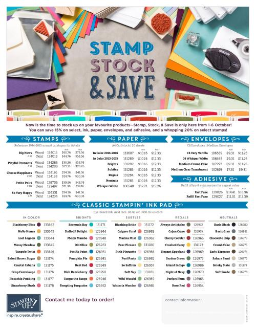 Click to download the Stamp Stock and Save flyer