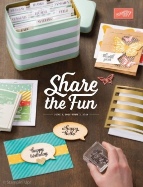 Stampin' Up! catalogue cover