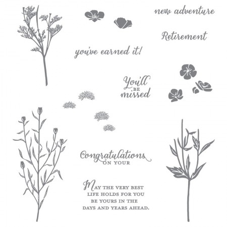Wild About Flowers stamp set by Stampin' Up!