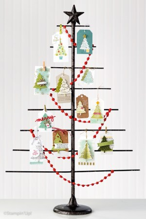 Stampin' Up! Holiday Catalogue 2015 - Peaceful Pines tags