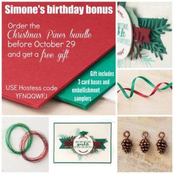 Simone's Birthday Bonus