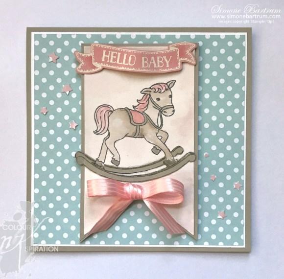 #CI05: Hello Baby Card from www.simonebartrum.com