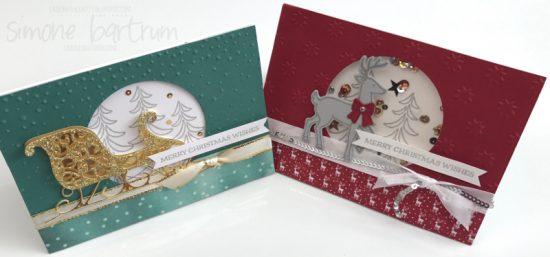Santa's Sleigh by Stampin' Up! (www.simonebartrum.com)