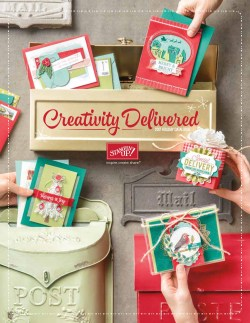 Creativity Delivered - Stampin' Up! Holiday Catalogue Cover