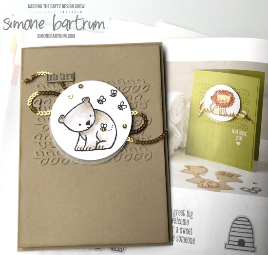Stampin' Up! 'A Little Wild' bundle. www.simonebartrum.com