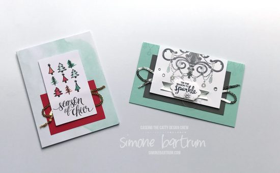 CASEing The Catty project: Season to Sparkle stamp set, by Stampin' Up!. From www.simonebartrum.com
