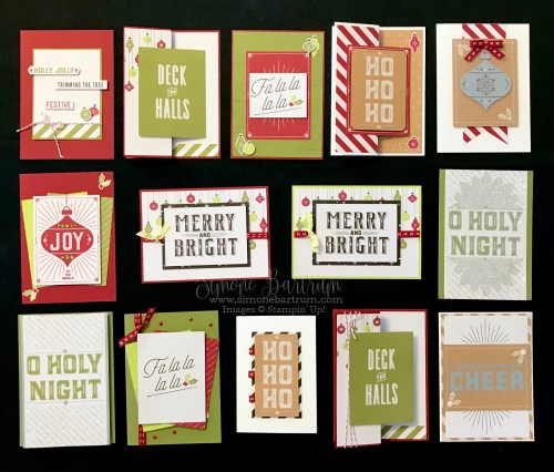 Merry Little Christmas Memories & More Card Pack - Stampin' Up!