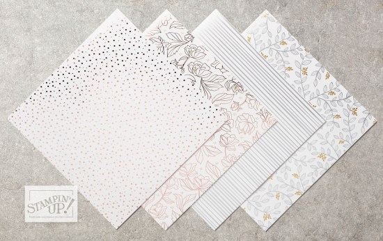Springtime Foils paper - Sale-a-bration exclusive, by Stampin' Up!