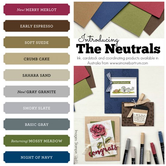 Stampin' Up! Colour Revamp - The Neutrals