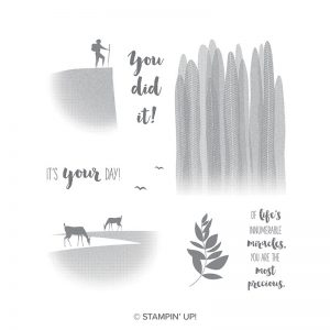 Seize the Day stamp set, available in clear mount or wood mount. Stampin' Up!