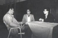 1984 - Napoli - Interviewing Masatomi Ikeda