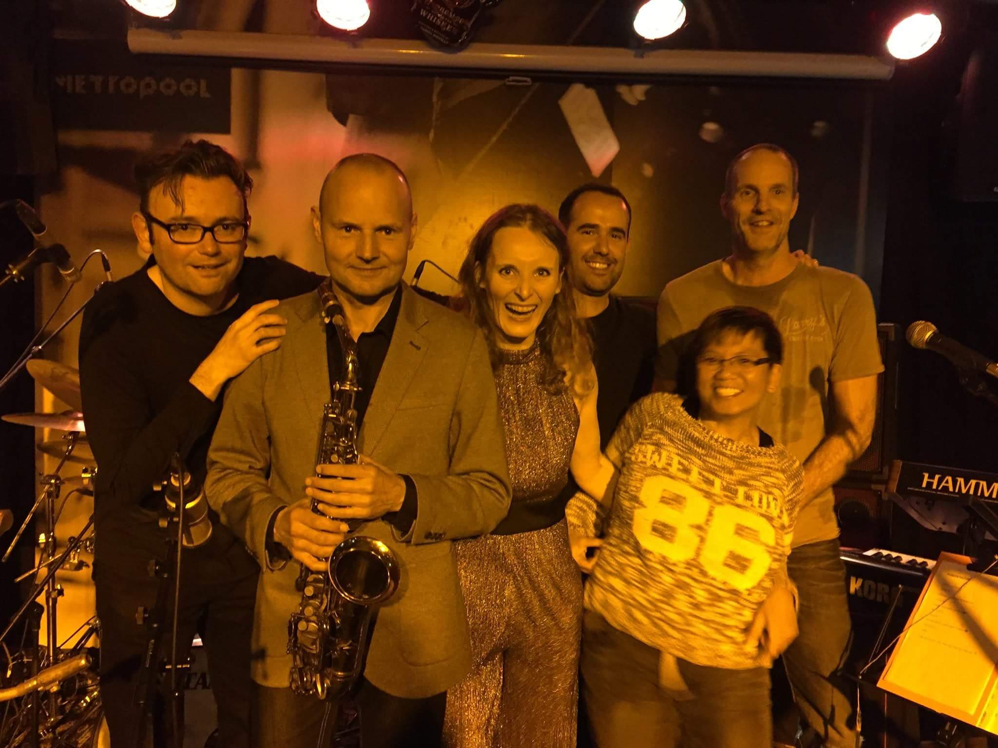 Simone Croes band