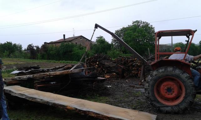 local wood supply chain
