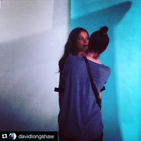 David Longshaw SS16 Look Book Shoot Makeup Artist Simone Graham