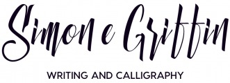 Simone Griffin: Writing and Calligraphy