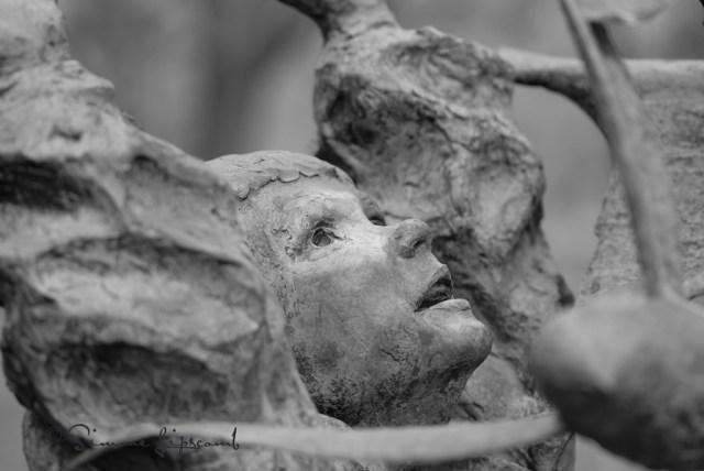 Statue in Bicentennial Park, Greensboro, NC