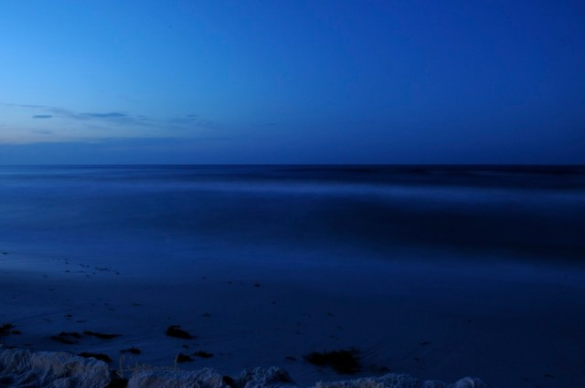Pre-dawn Gulf of Mexico