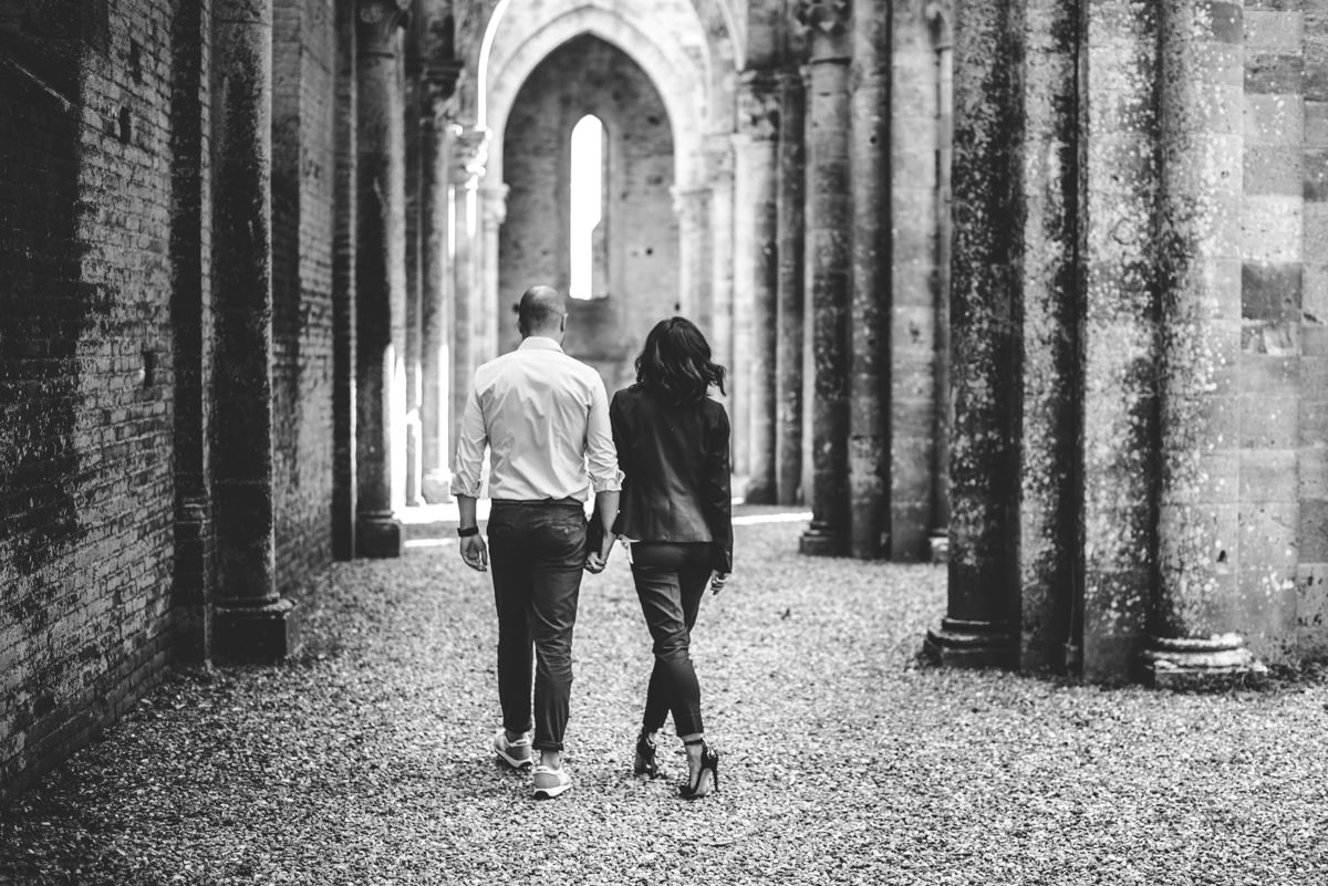 Top Wedding Photographer San Salgano Abbey