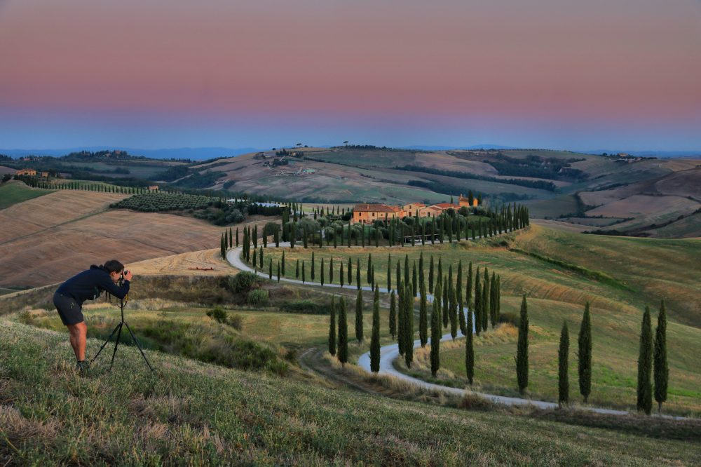 Podere Baccoleno, Val d'Orcia
