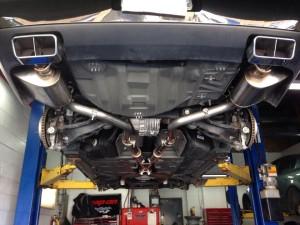 Underside Dual Exhaust