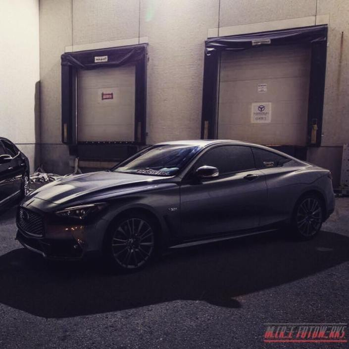 Q60 Red Sport Build Project at Simone Performance Newmarket
