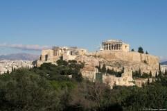Acropoli dalla collina Philopappos