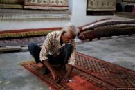 Lavorazione tappeti