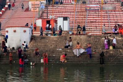 Bagno nel Gange