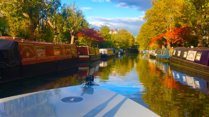 GoBoat Little Venice in Autumn