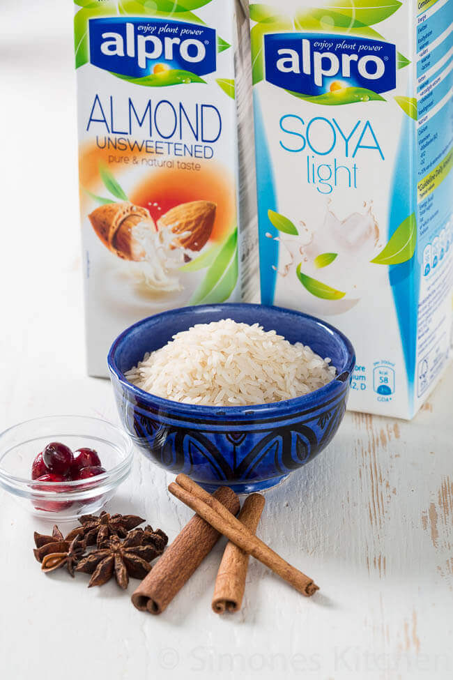 ingredienten voor de arroz con leche | simoneskitchen.nl