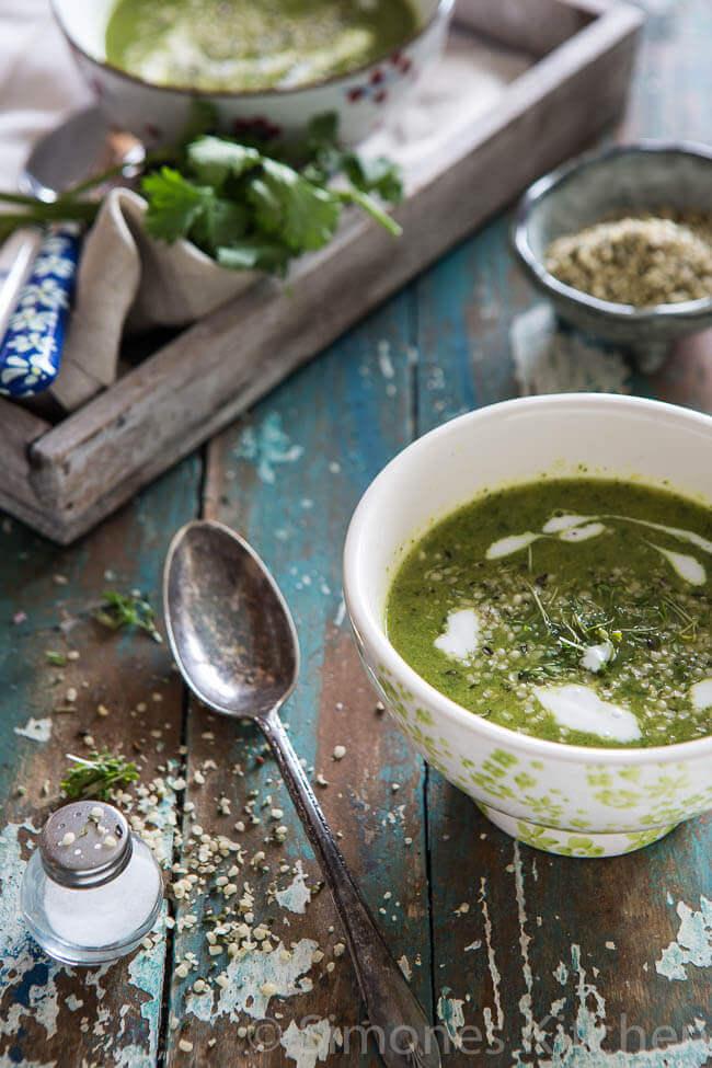 whole30 broccoli soep | simoneskitchen.nl