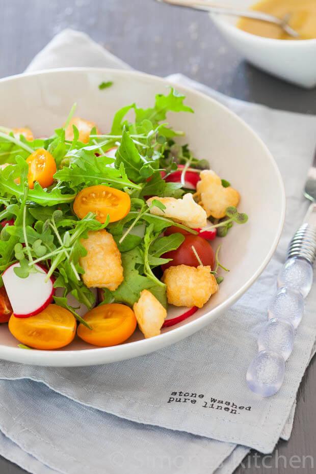 Halloumi tomaat salade   simoneskitchen.nl