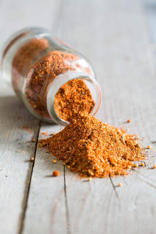 specerijenmix met paprika, knoflook en koriander | simoneskitchen.nl