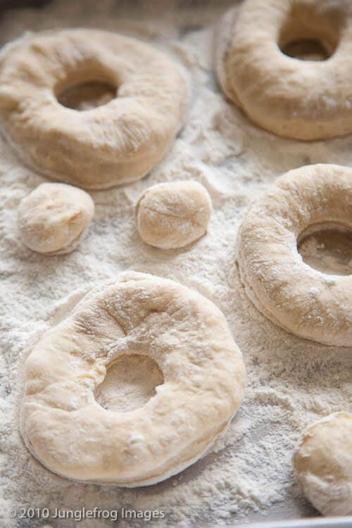 Doughnuts cut into rings | insimoneskitchen.com