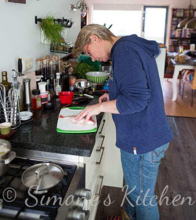 Vis fileren in Simone's Kitchen | simoneskitchen.nl