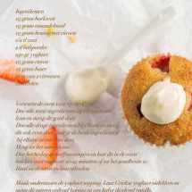 Citroen aardbeien muffins met yoghurt | simoneskitchen.nl