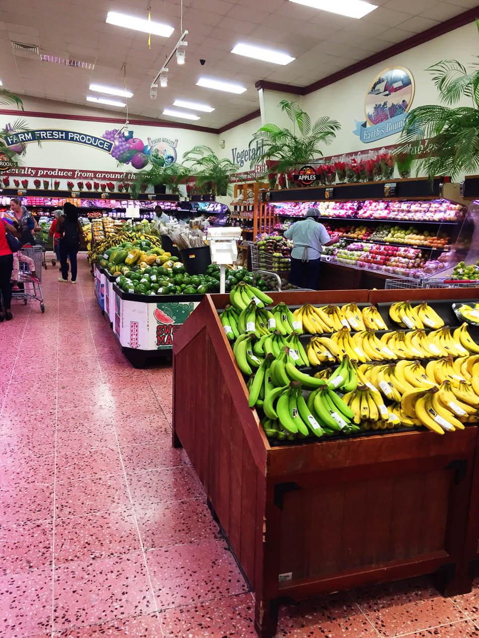 Lokale supermarkt: altijd leuk om rond te snuffelen!